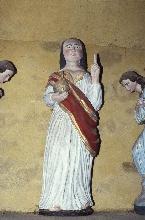 statue (statuette) : Christ enseignant