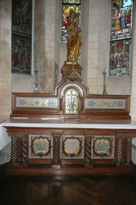 autel de la Vierge