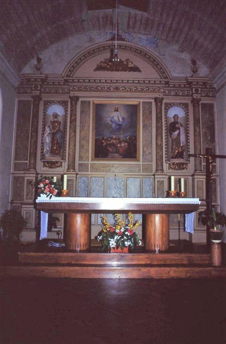 retable du maître-autel, tableau : Ascension (l')