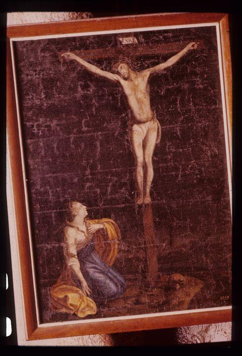 Tableau : Déploration au pied de la croix