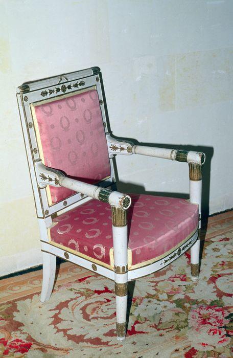 5 fauteuils, style Empire