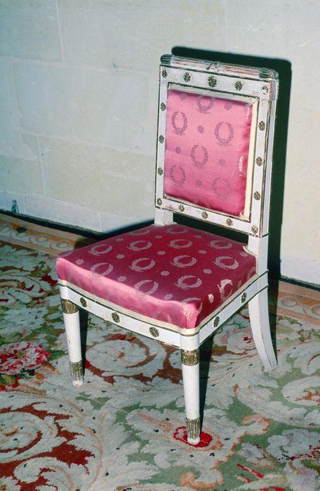 4 fauteuils style retour d'Egypte, 2 chaises style Empire