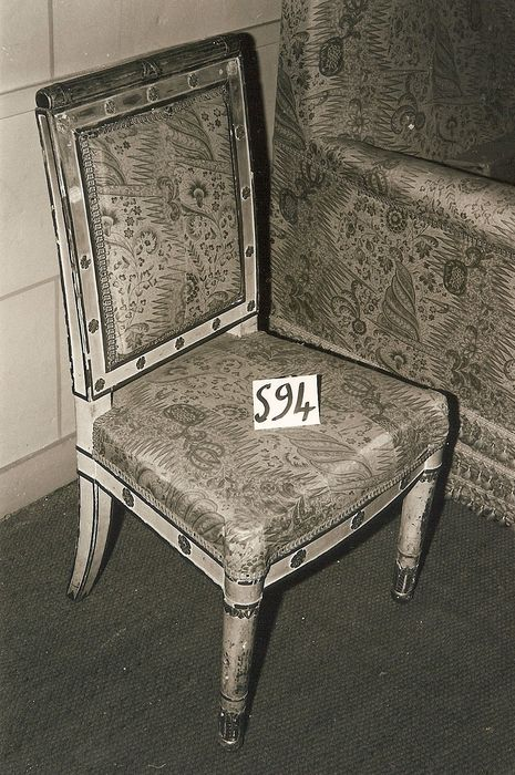 2 chaises, style Empire