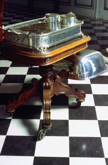 Table à hacher