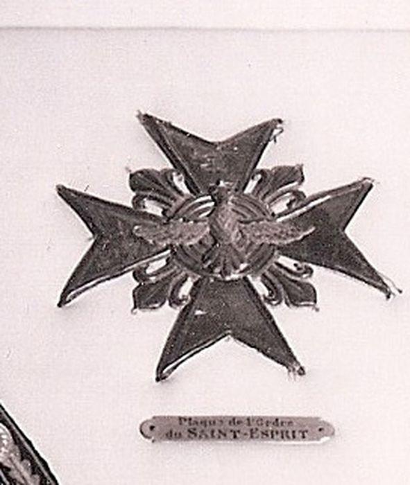 Décorations du prince de Talleyrand (plaque) : Ordre du Saint-Esprit