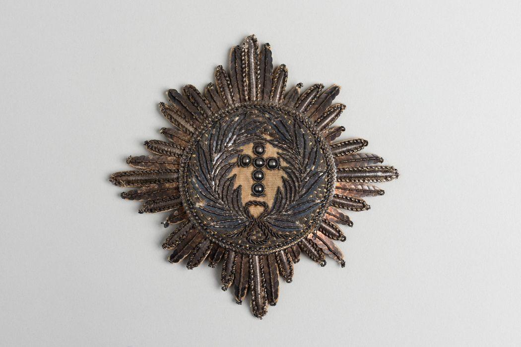 Décorations du prince de Talleyrand (plaque) : Ordre de l'Elephant du Danemark