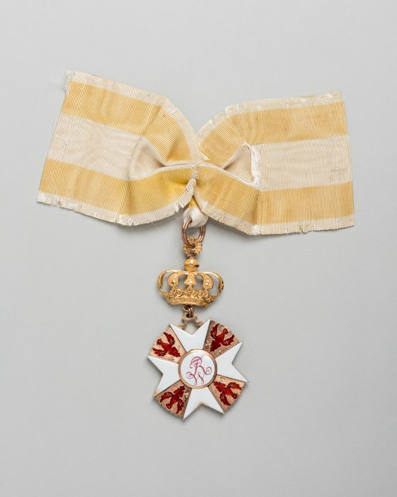 décoration du prince de Talleyrand (grand-croix) : Ordre de l'Aigle Rouge de Prusse, vue générale