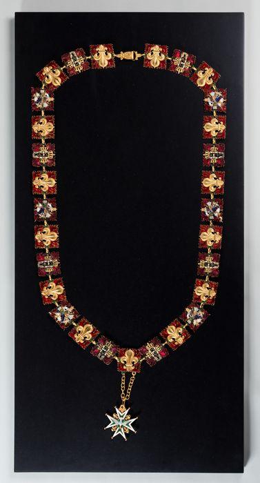 Décorations du prince de Talleyrand (grand-collier) : Ordre du Saint-Esprit