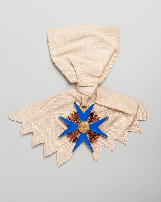 Décorations du prince de Talleyrand (plaque) : Ordre de l'Aigle Noir de Prusse