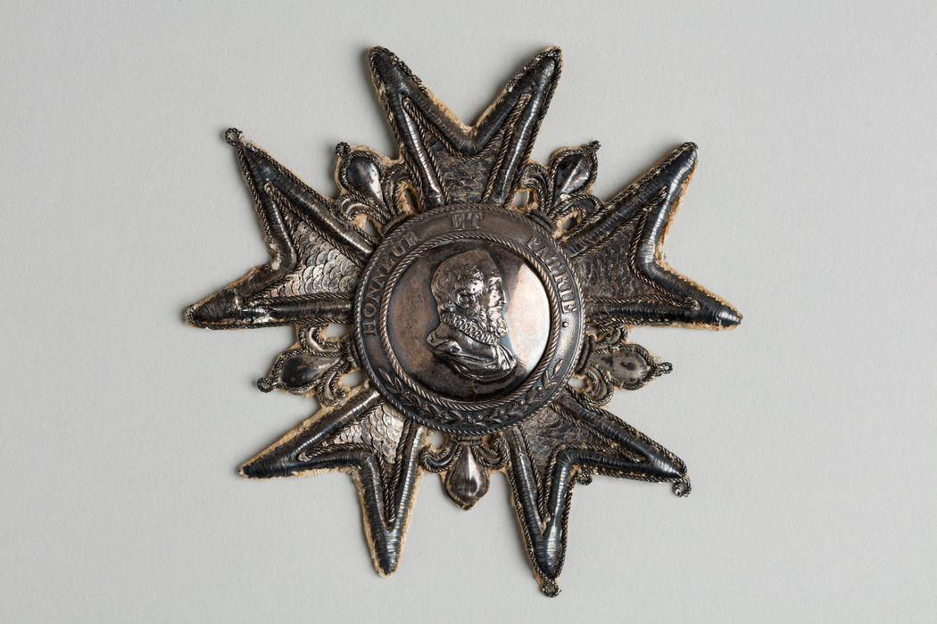 Décorations du prince de Talleyrand (plaque de grand-croix) : Légion d'Honneur