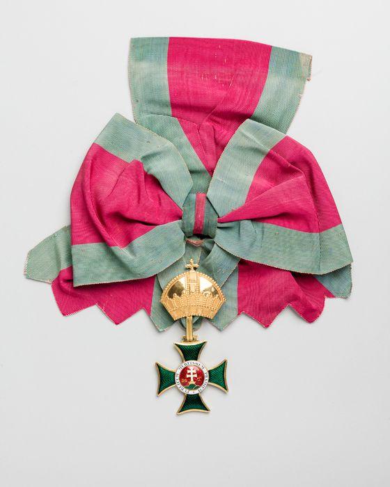 Décorations du prince de Talleyrand (grand-croix) : Ordre de Saint-Etienne de Hongrie