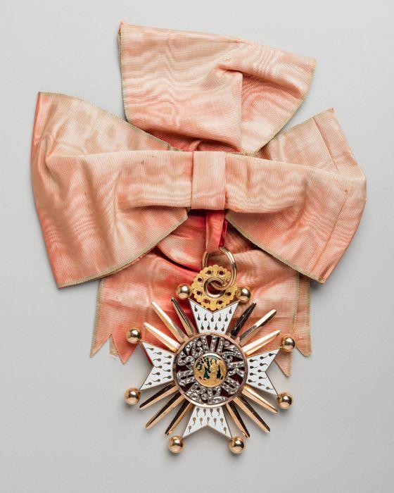 Décorations du prince de Talleyrand (grand-croix) : Ordre de Saint-Hubert de Bavière