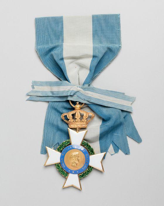 Décorations du prince de Talleyrand (grand-croix) : Ordre du Sauveur de Grèce