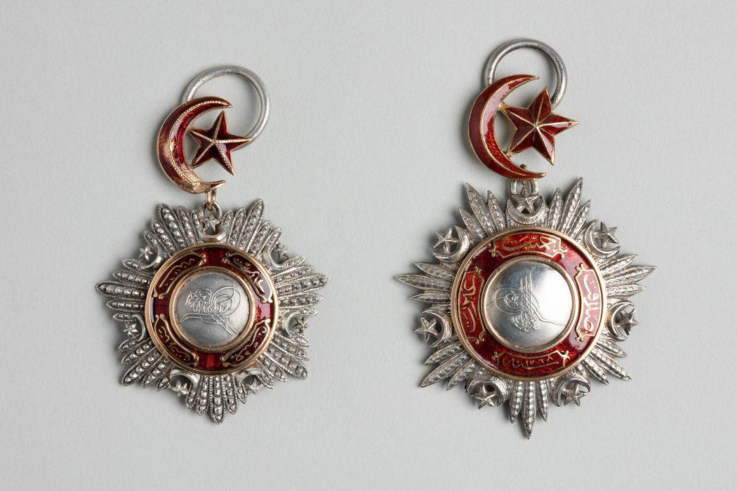 Décorations du prince de Talleyrand (plaque) : Ordre de Medjidié de Turquie