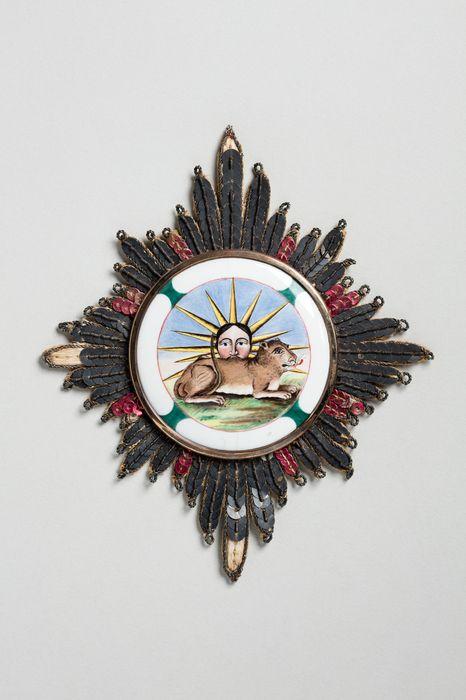Décorations du prince de Talleyrand (plaque) : Ordre du Soleil et du Lion de Perse