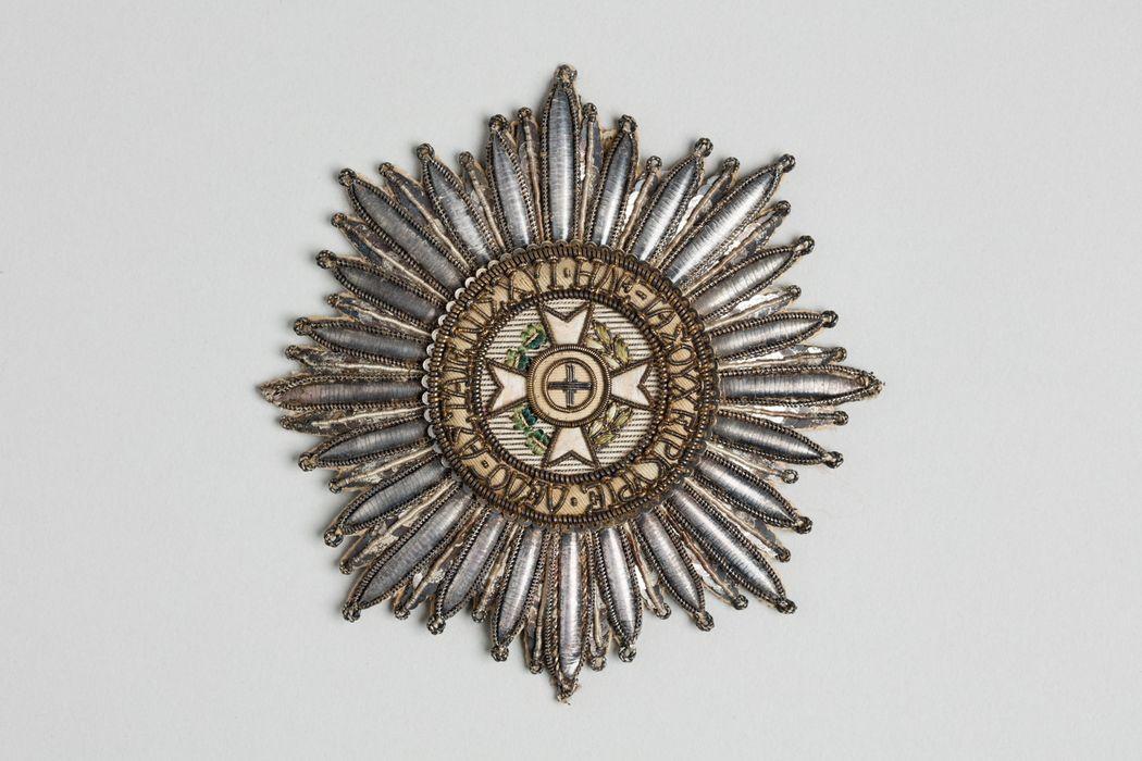 Décorations du prince de Talleyrand (plaque) : Ordre du Sauveur de Grèce