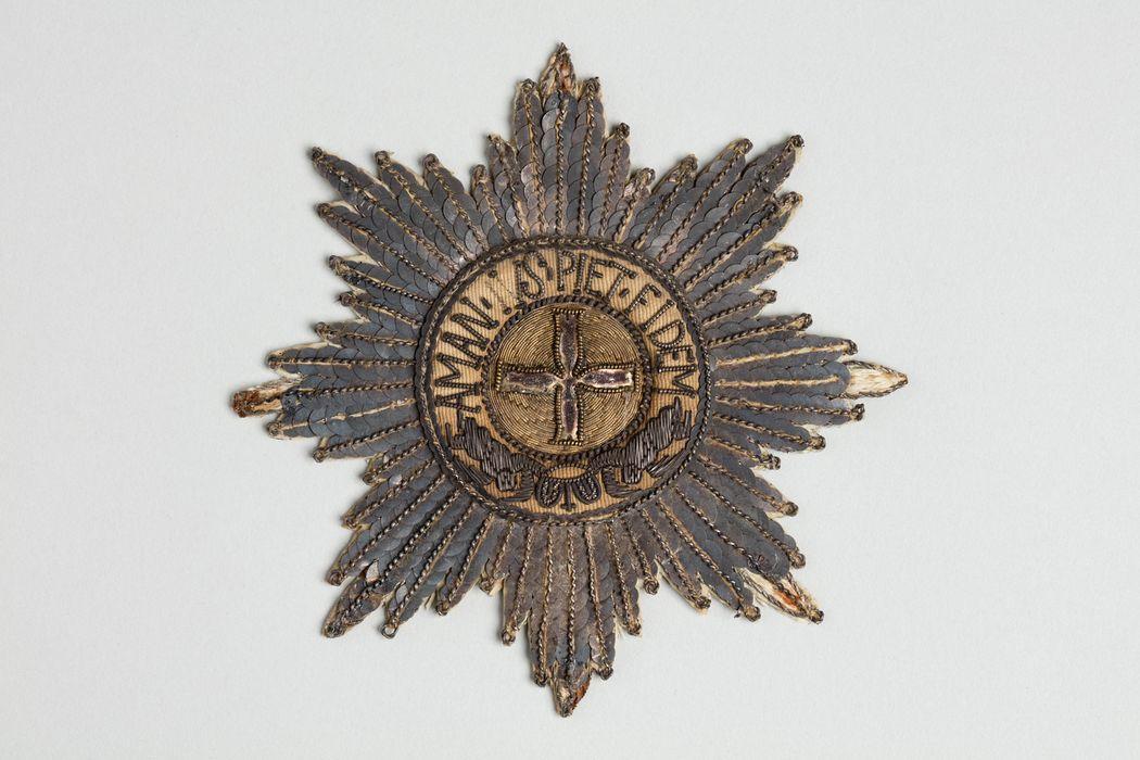 Décorations du prince de Talleyrand (plaque) : Ordre d'Alexandre Nevski de Russie