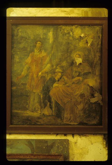 Tableau : Sainte Anne, la Vierge et saint Vincent