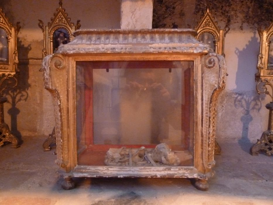 Vitrine (vitrine pour reliques)