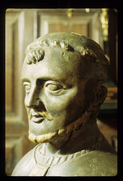 Buste-reliquaire et son socle : Saint Sylvestre