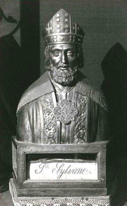 Buste-reliquaire : Saint Sylvain