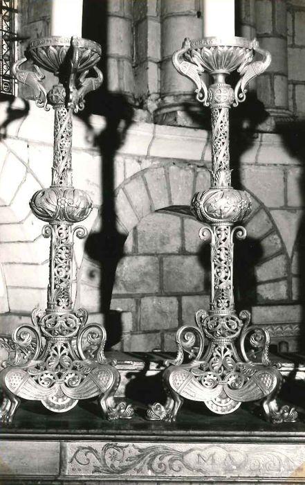 Six chandeliers