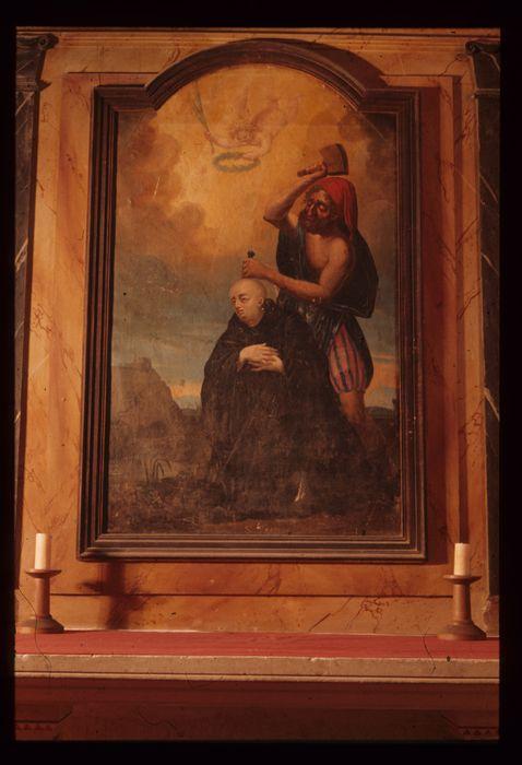 tableau : Le Martyre de saint Paxent