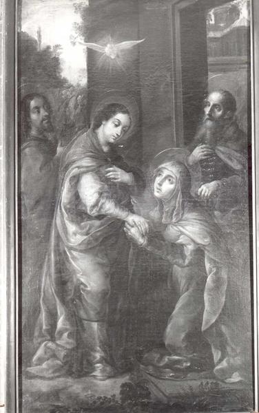 Tableau : Visitation de la Vierge par sainte Elisabeth