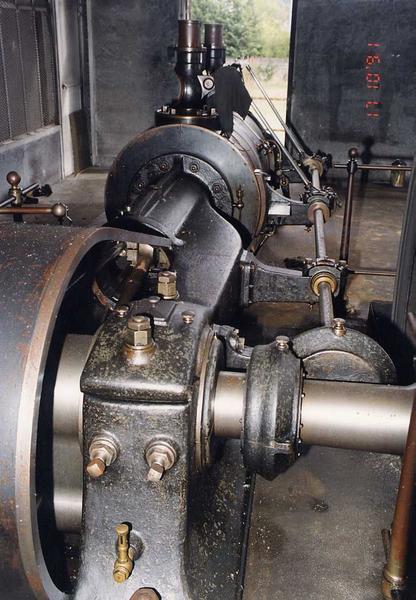 locomotive à vapeur (machine à vapeur, chaudière) type Compound N 861