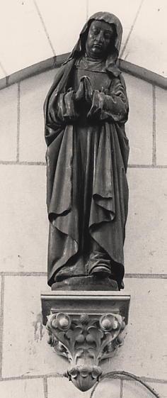 Statue : Vierge du Calvaire