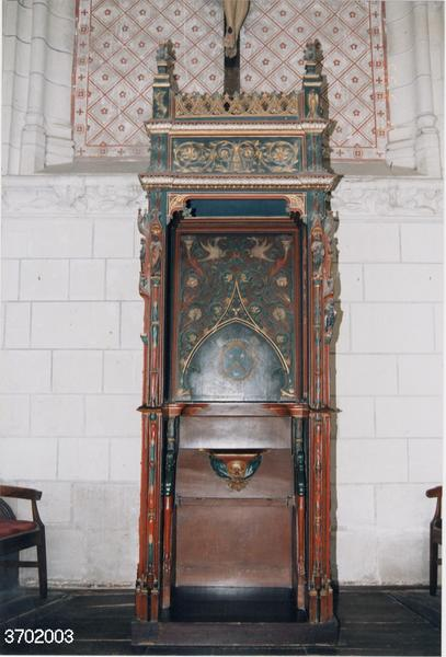 Chaire à prêcher (chaire abbatiale)
