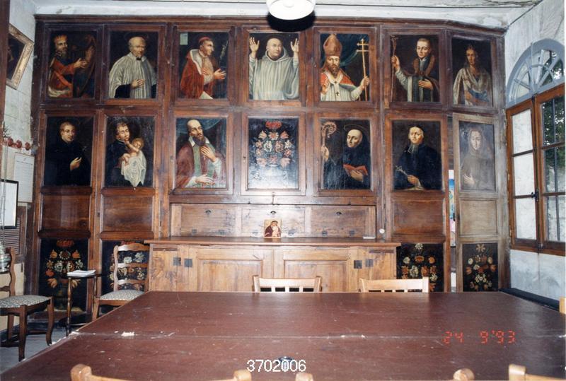 Tableaux (13) : Portraits de rois, évêques, abbés et saints