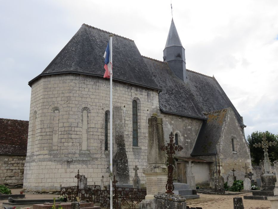 Eglise  Notre-Dame, ensemble nord-est, vue générale