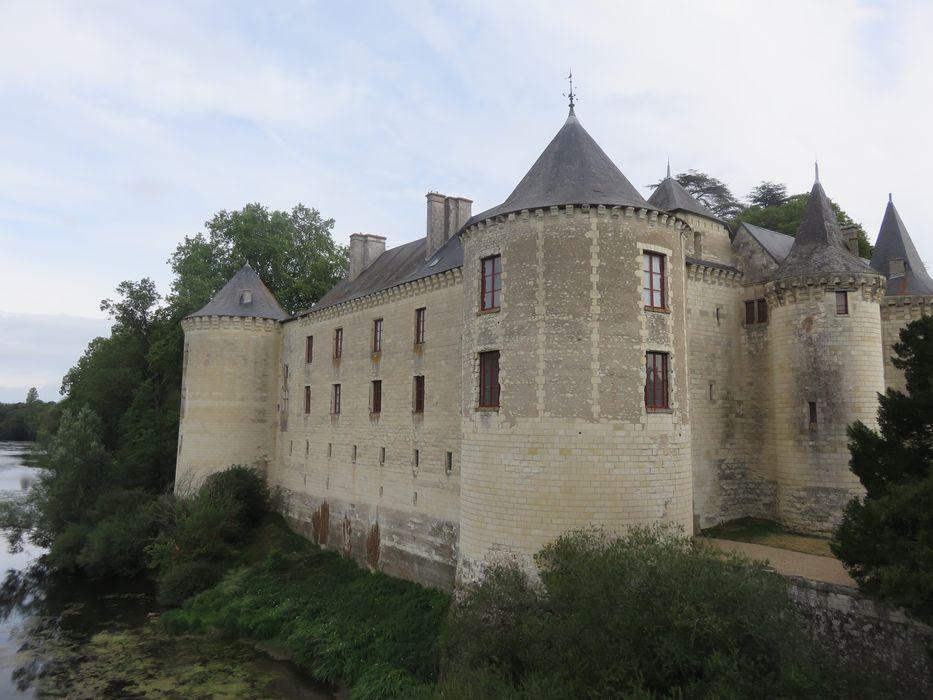 Château, ensemble sud-ouest, vue générale