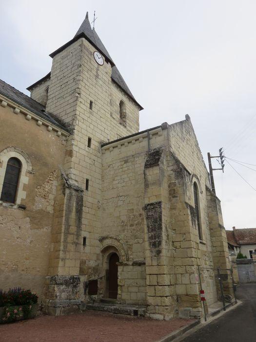 Eglise  Saint-Marcellin, façade latérale sud, vue partielle