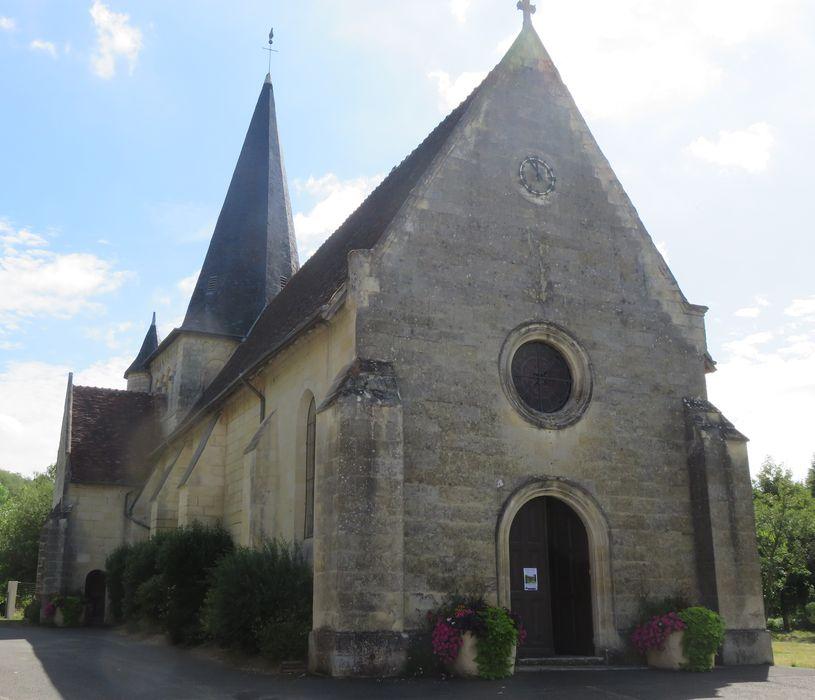 Eglise  Saint-Pierre, ensemble nord-ouest, vue générale