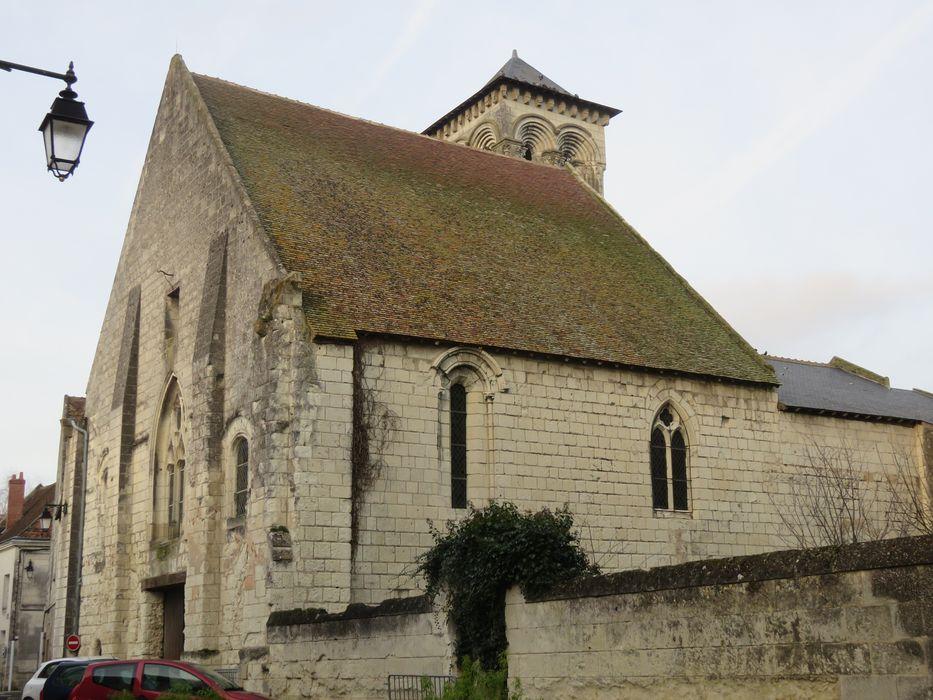 Ancienne église Saint-Laurent: Façades sud et ouest, vue générale