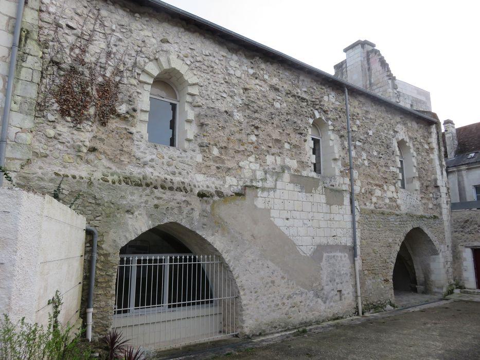 Bâtiment dit Maison des Templiers: Façade nord, vue partielle