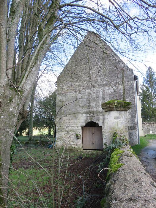 Ancienne chapelle de Vignemont: Façade occidentale, vue générale