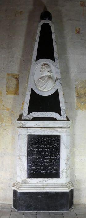 Tombeau de Michel Amelot, archévêque de Tours