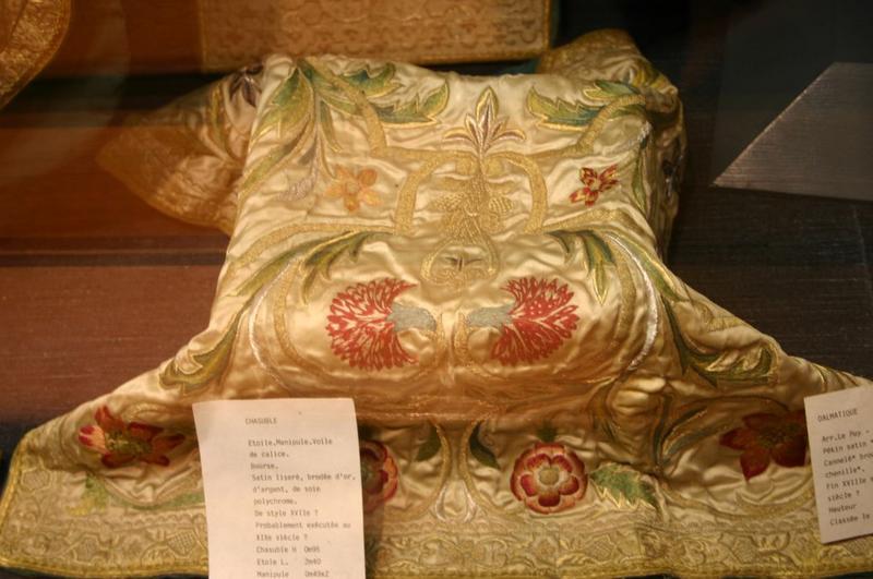 Voile du calice (ornement dit de Charles X).