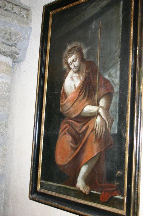 tableau : Christ aux liens et au roseau