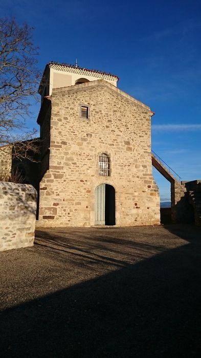 église Saint-Hilaire: façade occidentale, vue générale