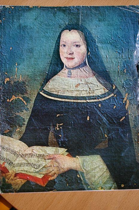 Tableau : Portrait de la chanoinesse Geneviève de Pons