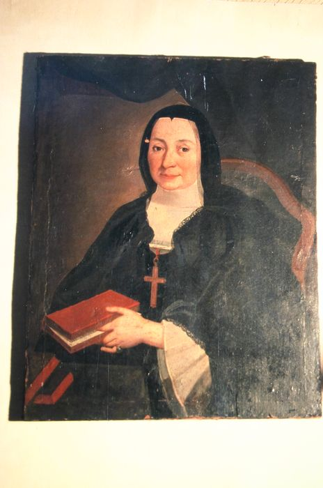 Tableau : Portrait de la chanoinesse Claire de Pons