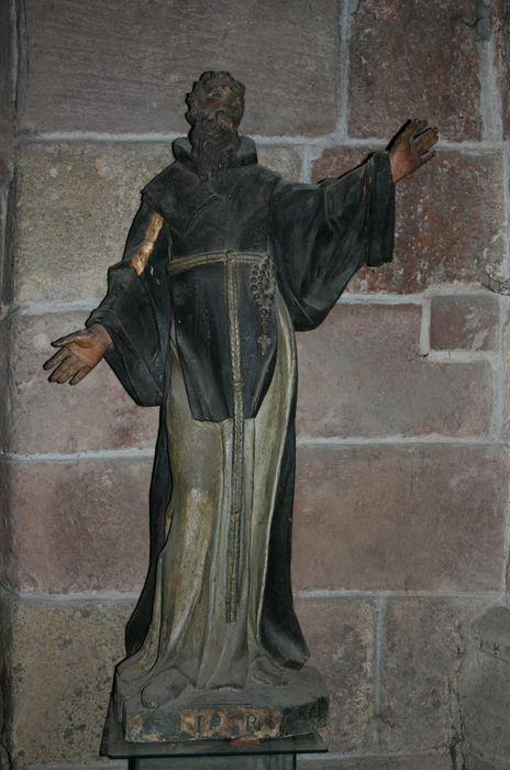 statue : Saint Robert ou Saint dominicain