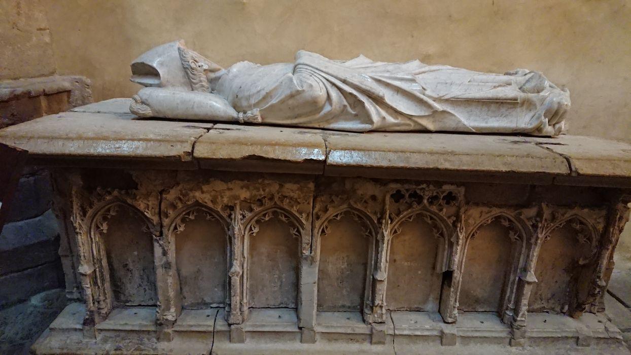tombeau (gisant) de Nicolas de Beaufort, archevêque de Rouen