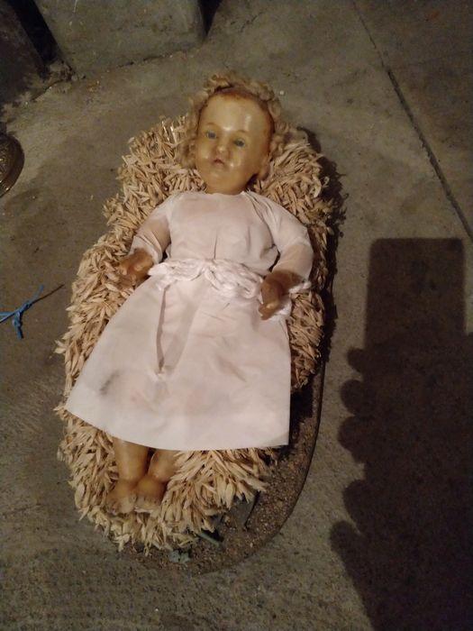 Santon : Enfant Jésus couché