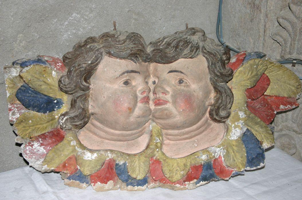 console : Têtes d'anges jumelées