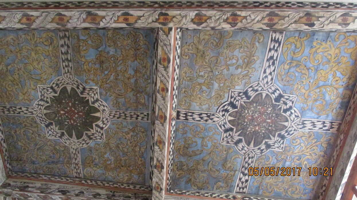 plafond, vue partielle